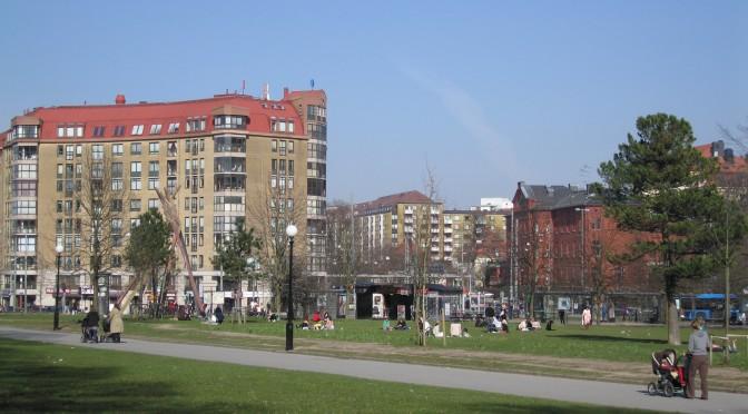 Linnéplatsen i Göteborg – en del av stadsdelarna Kommendantsängen, Olivedal och Slottsskogen.